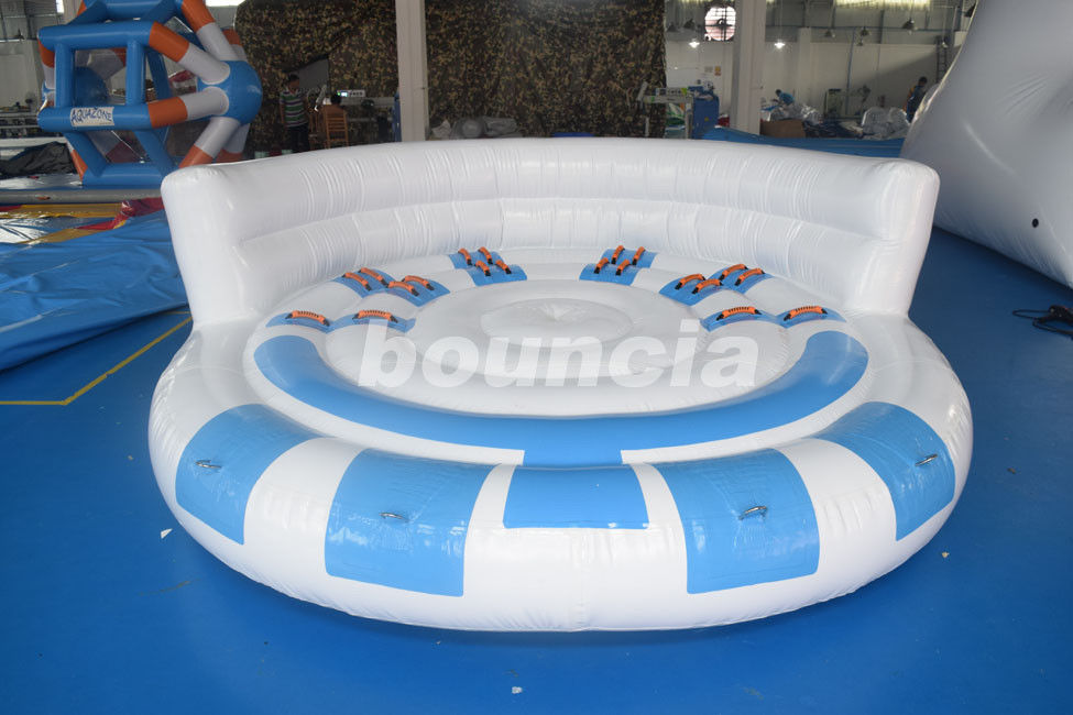 Inflatable Towable Ski Tube For Commercial Use / Inflatable Towable Boat