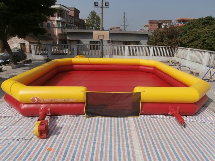 Inflatable Bumper Ball Court , Bumper Ball Field With Commerical Grade PVC Tarpaulin