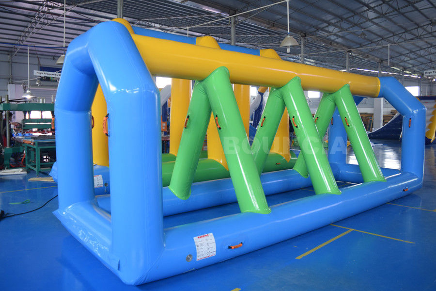 Swimming Pool Inflatable Water Games Equipment With Durable PVC Tarpaulin