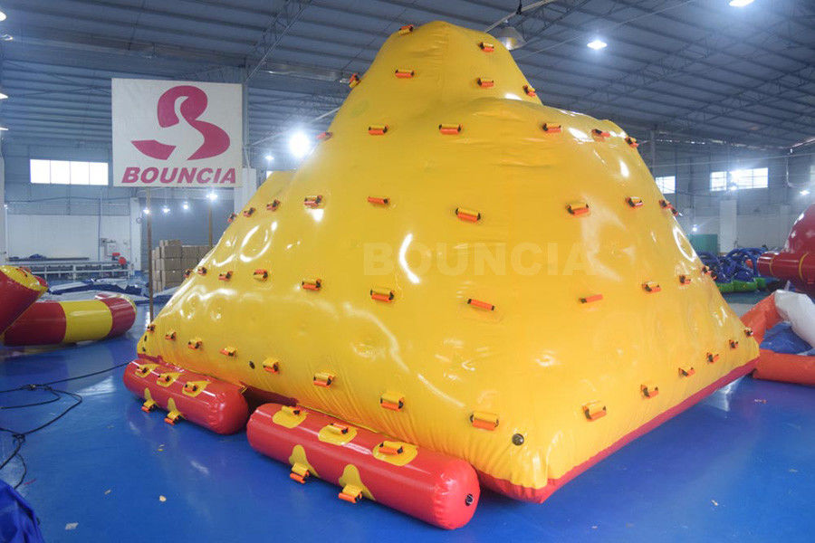 Water Park Floating Water Iceberg For Climbing And Sliding