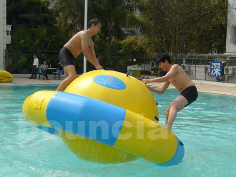 Kids And Adults Inflatable Saturn Rocker Used In Hotel Or Pool
