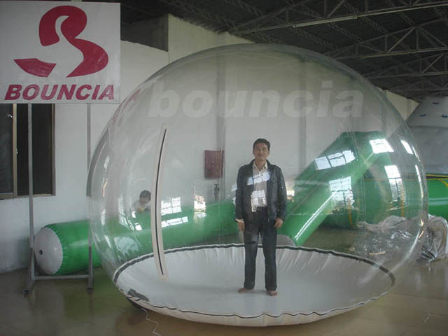 0.5mm PVC Inflatable Show Ball / Inflatable Snow Globe For Trade Show